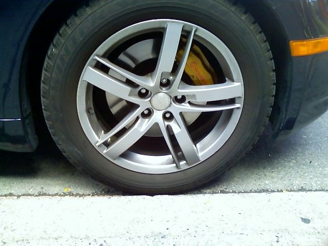 G35 17 inch rims that fit with Brembo Brakes